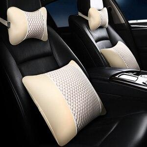 Image 5 - ブランド新革の車のヘッドレスト枕ユニバーサル快適な首枕ほとんどの車の品質保証