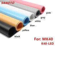 40 X50cm 6 Color PVC Material Anti Wrinkle Backdrop For Photo Studio Kits Photo Light Box