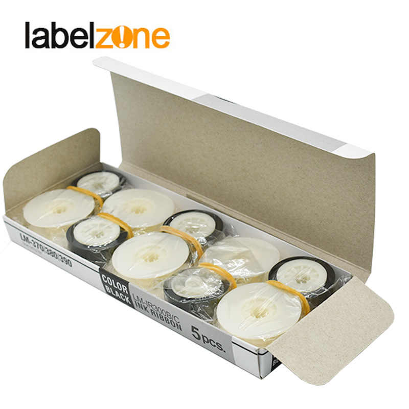 1 pieza Max cinta de tinta LM-IR300B compatible MAX LETATWIN Cable ID impresora electrónica letras de LM-370E LM-380A LM-390A/PC