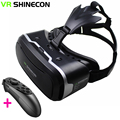 3D VR Shinecon Virtual Reality Box Game Movie Glasses Case Google Cardboard Head Mount Helmet For iOS Android Phone + Gamepad