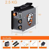 Portable Mini MMA Welder AC 220V Arc Electric Welding Machine 10 200A DIY Welding Rod 2.5mm Free Shipping