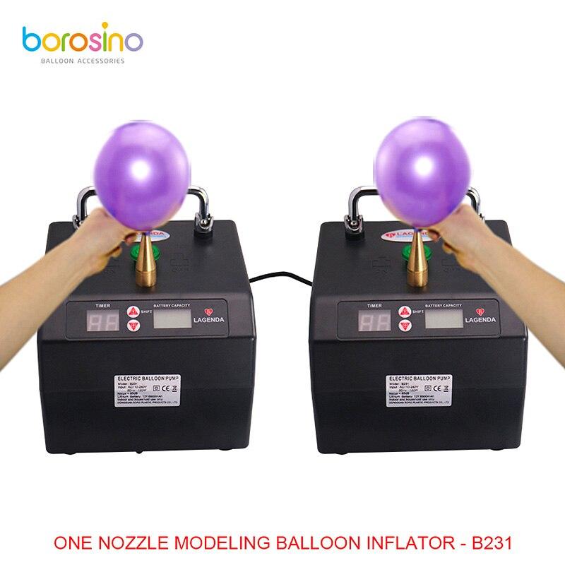 B231 Professionnel Lagenda Torsion Modélisation Ballon Gonfleur avec Batterie Numérique Temps et Contre Electirc Pompe À Ballonnet