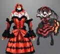 Дата эфире Tokisaki каруми вечернее платье равномерное наряд аниме косплей костюмы