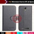 Hot!! micromax canvas xp 4g q413 case 2017 6 cores de luxo ultra-fino de couro exclusivo 100% casos tampa do telefone especial + rastreamento