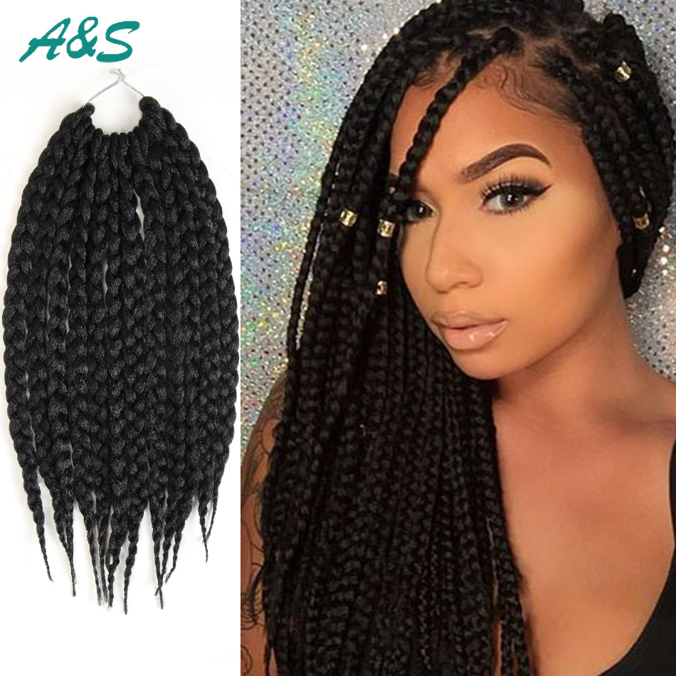 Full Head Crochet Box Braids : = full head top box braids ombre braiding hair crochet hair crochet ...