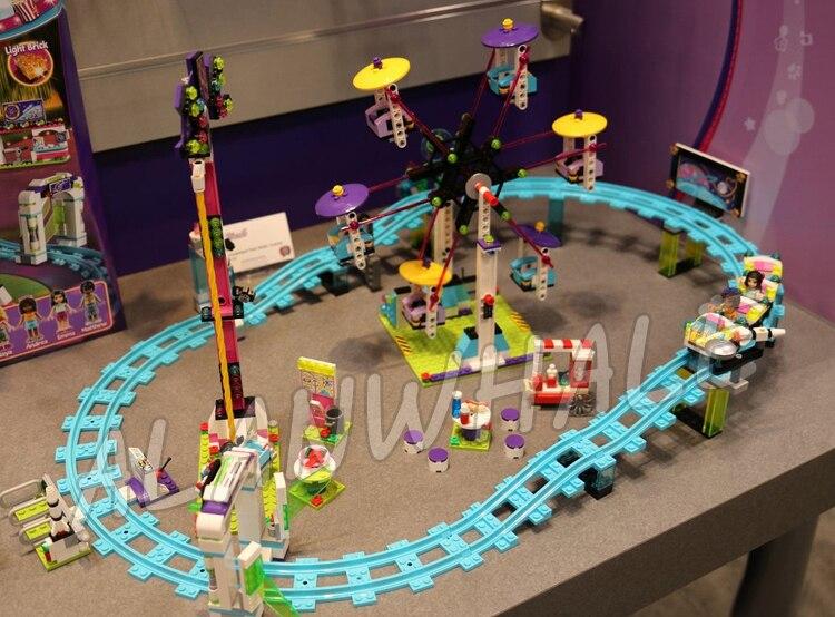 Toys & Hobbies Blocks Olivia Amusement Park Space Ride 01006 Girls Building Blocks Sets Gift Toys Compatible Legoingly Friends 41128