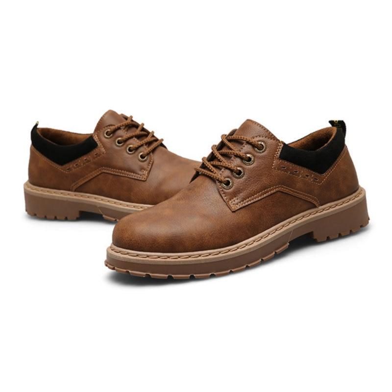 ECTIC 2018 Nueva moda joven Cómodo zapatos oxfords suela de goma - Zapatos de hombre - foto 2