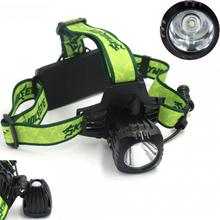 Skywolfeye T6 LED USB Rechargeable Headlamp 500LM 3 Modes Headlight Night Fishing Camping Cycling Lamp for Outdoor