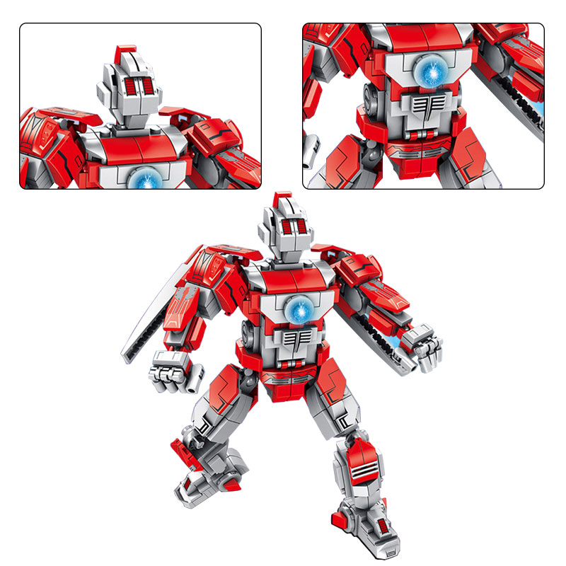 Legoing Avengers Iron Robot Movie game Ultraman Super Heroes Building Block  Brick Toy For Kid Educational Model Legoings Technic