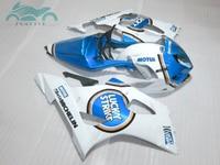 Custom Fairing kits for Suzuki K3 K4 GSXR1000 2003 2004 motorcycle sport fairings AT55 03 04 GSXR1000 Lucky Strike AT12