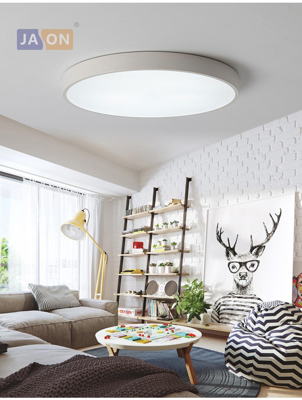 HTB1CTaljlfH8KJjy1Xbq6zLdXXa2 LED Modern Acryl Alloy Round 5cm Super Thin LED Lamp.LED Light.Ceiling Lights.LED Ceiling Light.Ceiling Lamp For Foyer Bedroom