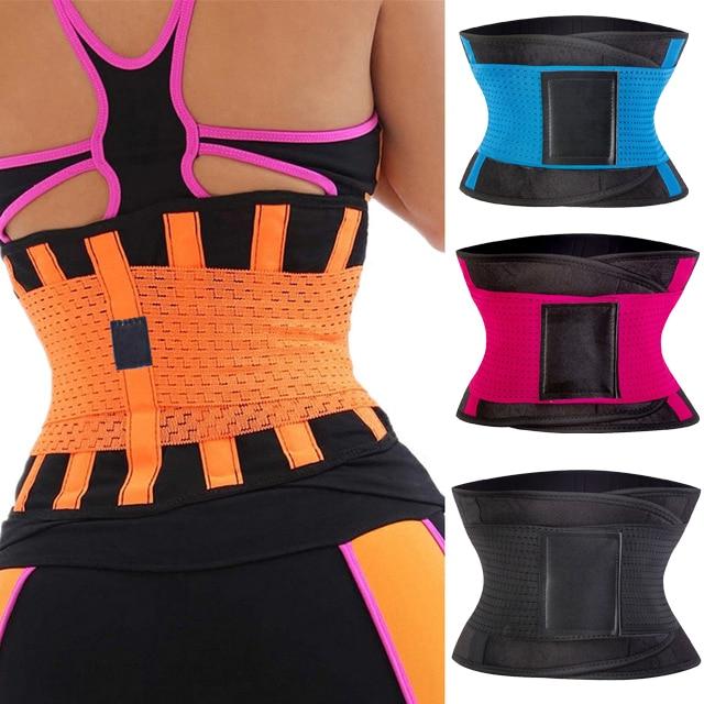 1f22dc0de4 KSKshape corsets waist trainer body shaper Bodysuit Slimming Belt Shapewear  women belt waist cincher corset