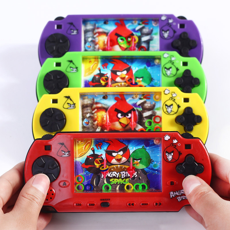 1Pcs Funny Children Water Game With Ring Water Ferrule Consoles Toy Kids Classic Intellectual Girl Boy Toy For Children Gift