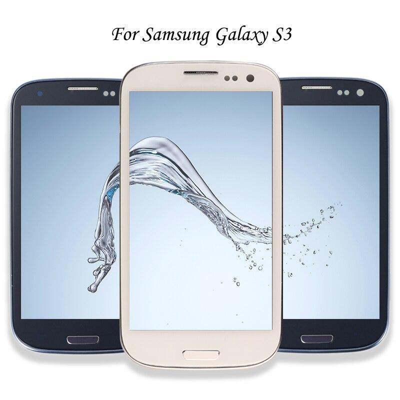 Für Samsung Galaxy S III S3 I9300 I9300i I9301 I9301i I9305 LCD Display Touchscreen Telefon Digitizer Assembly Ersatzteile