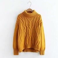 2018 women runway winter knitwear ladies fashion lady knitwear women casual sweater autumn knitted top pull femme grande taille
