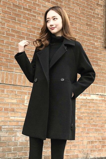 1699cf82c396 Nicesense Designer Womens Autumn Coats Abrigos Mujer Invierno 2018 Winter  Coat Women Manteau Femme Hiver Casaco