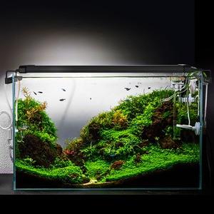 Image 5 - 29 72cm Aquarium LED Lighting Aquatic Plant Lighting Fish Tank Light Lamp With Extendable Brackets Fits for Aquarium