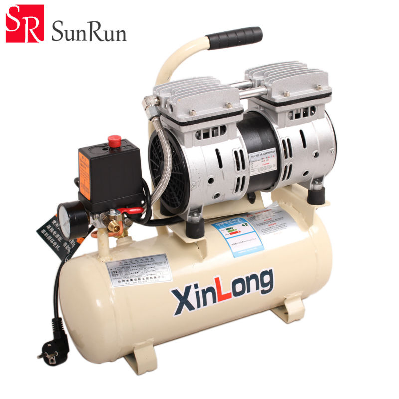 Air Compressor Quiet Oil Free 550W 1380r/min 8L For Autoclave Bubble Remove Machine and OCA Vacuum Laminating Machine 7inch ko no 1 mt 07 universal 12inch ft 12 oca film lamination machine need air compressor and vacuum pump bubble remover