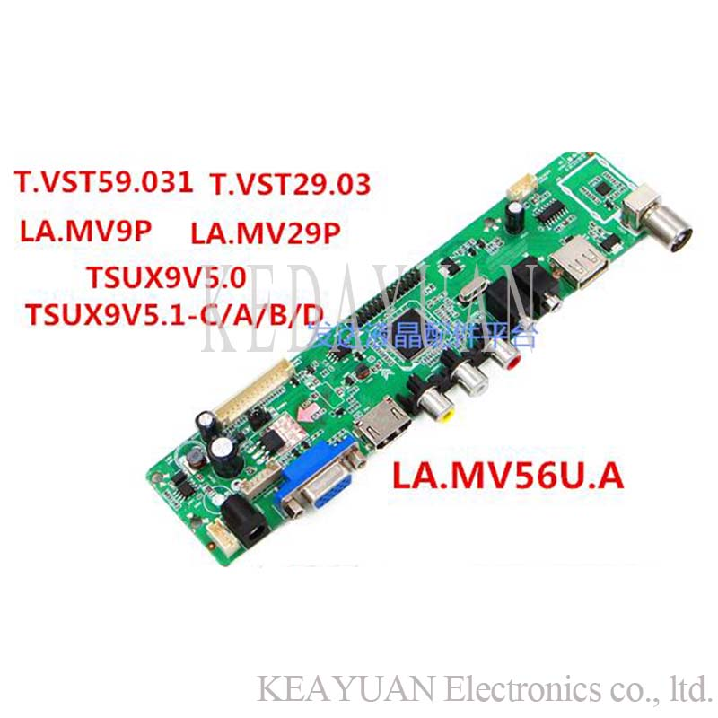 Free Shipping T.vst29.03\la.mv29.p\t.vst59.031\la.mv9.p Lcd Led Tv Controller Driver Board Work 32-65inch Computer & Office