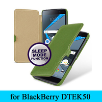 Smart Sleep Phone Case Flip Magnet Design Case Protective Cover Skin For Blackberry DTEK50 Free Gift