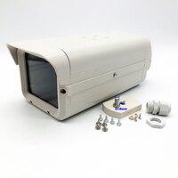 실내 외부 CCTV 카메라 집 보안 감시 카메라 하우징 알루미늄 회색 카메라 보호