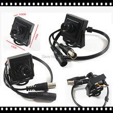 2Pcs/lot HD 3000TVL Video Surveillance 2MP AHD Indoor Mini Camera 1920*1080P CCTV Camera Free Shipping