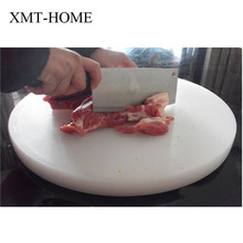 XMT-HOME anti-mold round plastic chopping board meat food chop kitchen cutting board thick chopping boards plastic 1pc