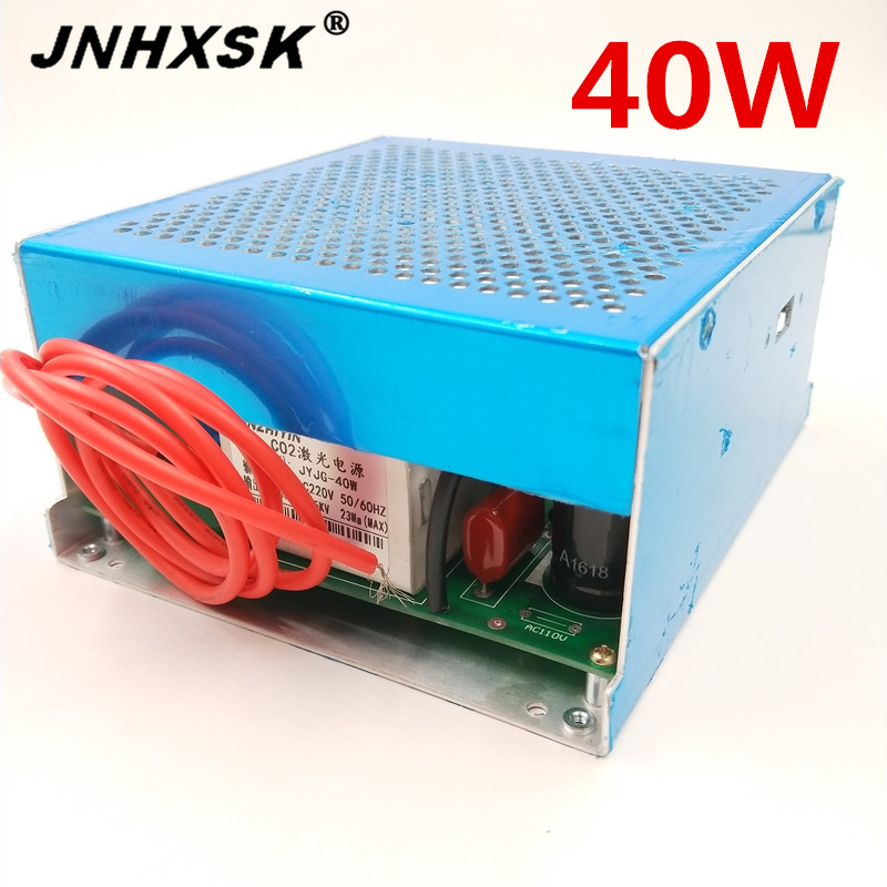 JNHXSK Hot Sale! High Quality And Cheaper Prices 40w Laser Power Supply For Laser Engraving And Cutting Machine Cnc Router