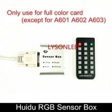 Huidu Full Color LED Video Card Professional Sensor Box with Brightness+Temperature+Humidity+Remote Control, HD-Sensor Box