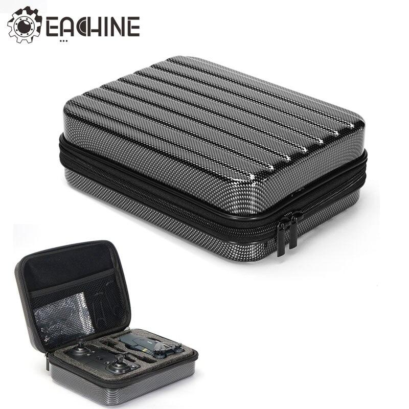 Eachine E58 RC Quadcopter Drone FPV de Selfie accesorios Shell duro estuche impermeable caja de almacenamiento maleta Bolso Negro