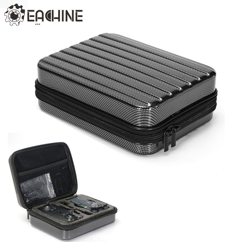 Eachine E58 RC Quadcopter Selfie Drone FPV Accessories Hard Shell Waterproof Carrying Case Suitcase Storage Box Handbag Black