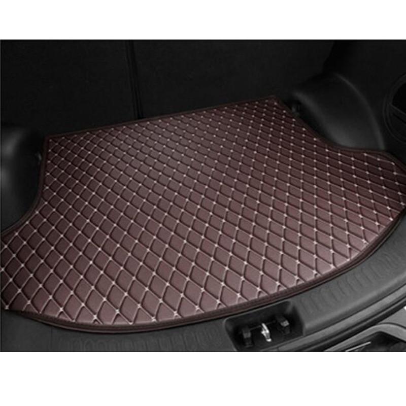 XWSN Special car trunk mat for MG All Models GT MG5 MG6 MG7 MG3 ZS mgtf car styling Auto parts car mat car sticker