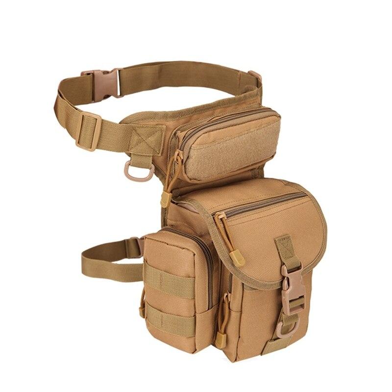 Tactical Backpack Bag Safe Outdoor Sport Camping Hiking Trekking Waist Leg Bag Military Shoulder Bag Multi-function Saddle Bag