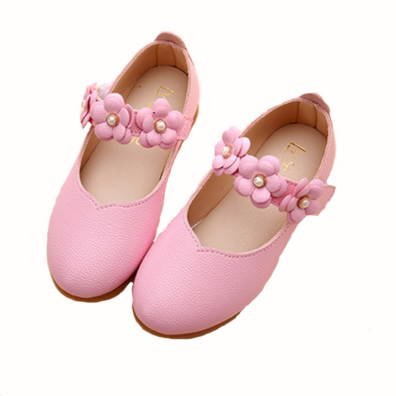 Girls Girl Leather Shoes Children New 2017 Fashion Party