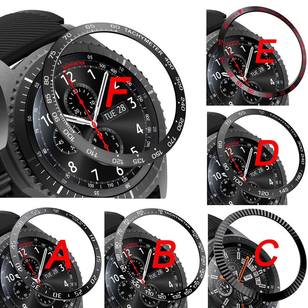 For Samsung Gear Sport S3 Frontier S2 SM-R720 Bezel Ring Styling Frame Case Cover Protection For Galaxy Watch 42mm 46mm