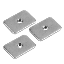 3D Printer Cnc Tee Nuts-M5 T-Nuts Carbon Steel Plated White Zinc For Openbuilds
