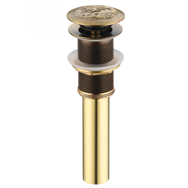 Золото и бронза Цвет люкс латуни всплывающих отходов Применение в умывальник l15595 - Цвет: Светло-желтый
