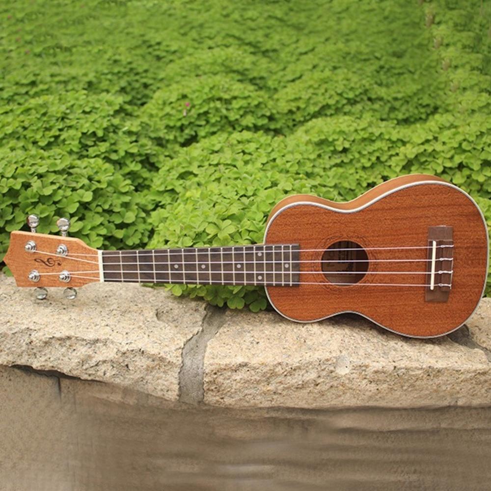 21 palcový Uicker ve Vuk Lily Havaj Four String Malá kytarová - Školní a vzdělávací materiály - Fotografie 3