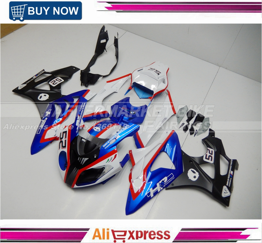 ABS 100 Easy Installation 100 Compatibility Motocycle Aftermarket Plastic Ornamental Replacement for BMW S1000RR Fairings Kits