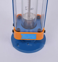 DN15 LZB 15 Glass Rotameter Flow Meter For Liquid Flange Connection LZB15 Tools Flowmeters Analysis Instruments