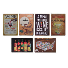 17 Style Vintage Metal Decorative Sign for Home, Pub and Bar