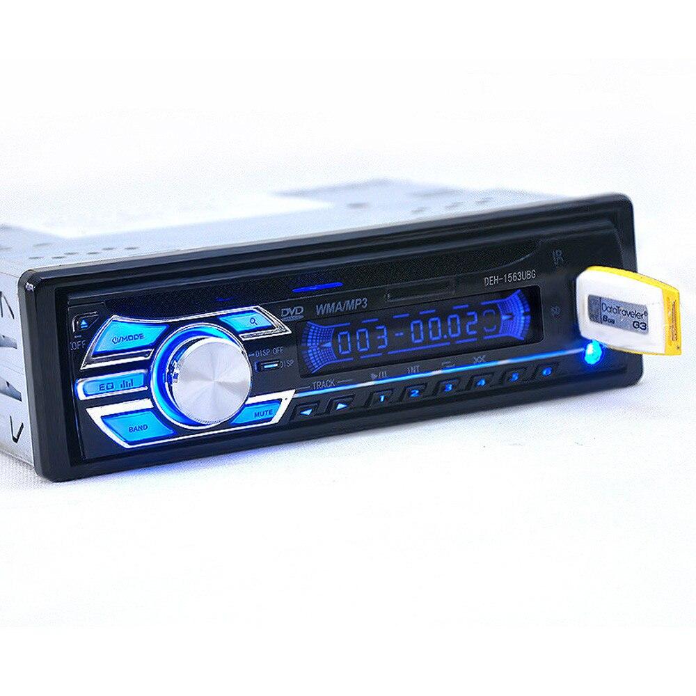 New Arrival 2018 Car Audio Stereo In-Dash DVD CD MP3 Radio Player SD Input AUX FM Receiver FM Receivers j23 tivdio v 116 fm mw sw dsp shortwave transistor radio receiver multiband mp3 player sleep timer alarm clock f9206a