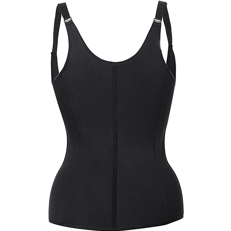 Hot Shapers Neoprene Sauna Sweat Vest Waist Trainer Cincher Women Body Slimming Trimmer Corset Workout Thermo Push Up Trainer 11