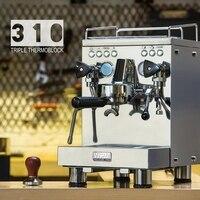 Welhome máquina de café espresso Comercial/aço inoxidável máquina de café espresso com grande capacidade e máquina de lavar automática