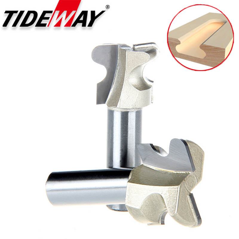 Tideway Professional Grade Arc Nail Cutter Drawer Router Bit  Door Handle Slotting Milling Cutter Woodworking Groving CNC Bits