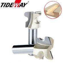Tideway профессиональный класс дуги резак для ногтей ящик маршрутизатор бит дверная ручка долбежные фрезерные деревообрабатывающие станки Groving сверла для станков с ЧПУ