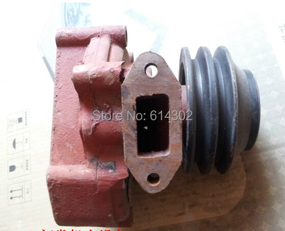 water pump for weifang Ricardo R6105 series diesel engine parts / weifang 75kw-130kw diesel generator weifang 495 k4100 r4105 r6105 diesel engine and diesel generator parts 12v 24v stop solenoid for sale