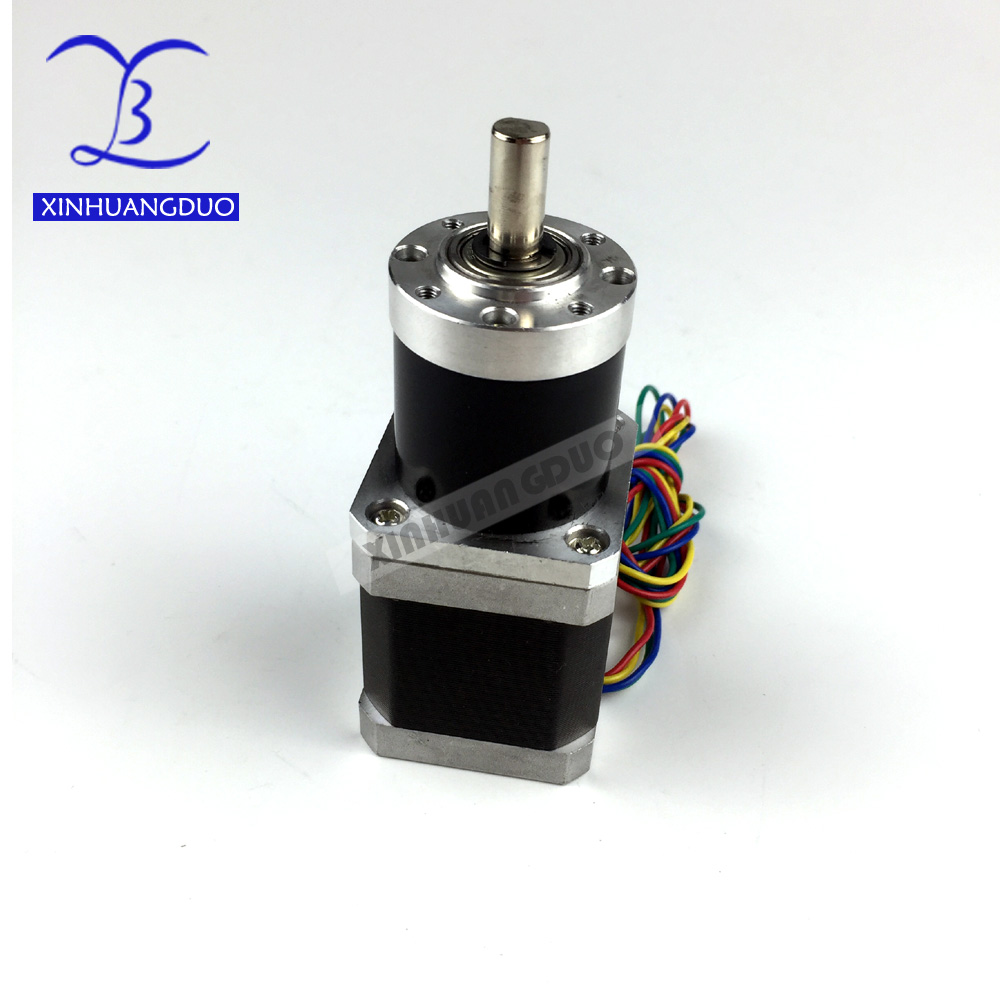 <font><b>Gear</b></font> ratio 59:1 82:1 115:1 Planetary Gearbox stepper <font><b>motor</b></font> <font><b>Nema</b></font> <font><b>17</b></font> 1.8A Geared Stepper <font><b>Motor</b></font> 3d printer stepper <font><b>motor</b></font> image