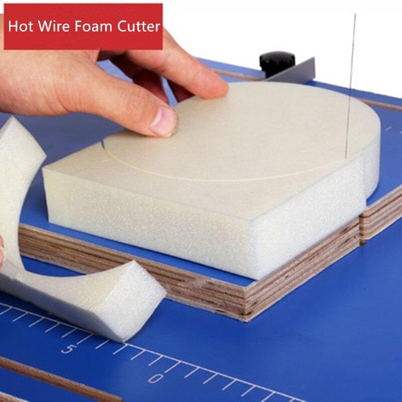 220V Hot Wire Foam Cutting Machine Heating Tools Table Styrofoam Cutter Foam Cutter ND32 DIY Making Model Foam KT Board dwz new hot wire foam cutter small electric styrofoam polystyrene craft diy tools