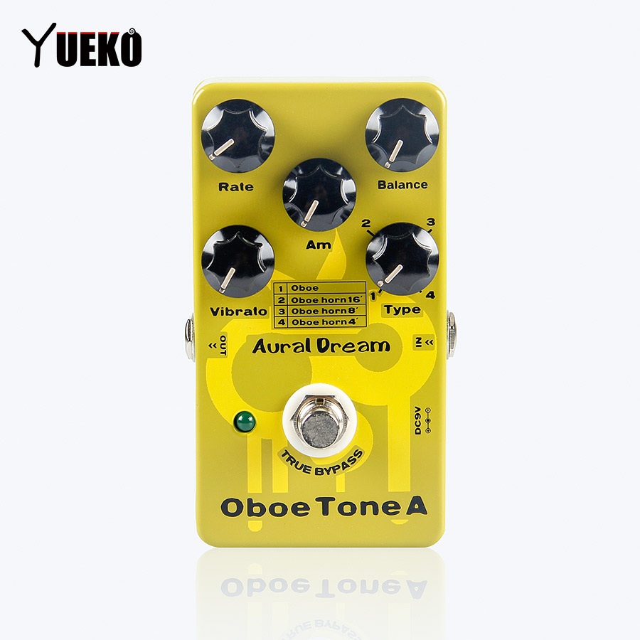 цена GUITAR Effect Pedal Aural Dream Oboe Tone A Synthesizer Guitarra pedal Guitar Accessories Parts